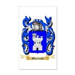 Martinoli 35x21 Wall Decal
