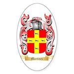 Martinez Sticker (Oval)