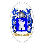 Martinetto Sticker (Oval 50 pk)
