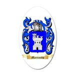 Martinetto 20x12 Oval Wall Decal