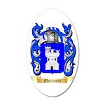 Martinetti 35x21 Oval Wall Decal