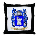 Martinets Throw Pillow