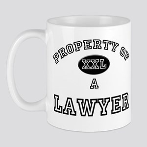 Property of a Lawyer Mug