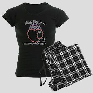 Stethoscope Princess Women's Dark Pajamas