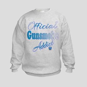 Official Gunsmoke Addict Kids Sweatshirt