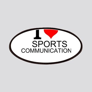 I Love Sports Communications Patch