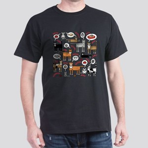 Cats Thinking T-Shirt