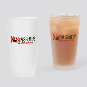 Eggnog - Nogasaurus Drinking Glass