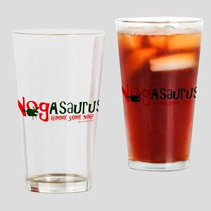 Eggnog - Nogasaurus Drinking Glass