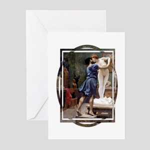Pyg & Gal Greeting Cards (Pk of 10)(blue front) Gr