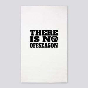 There Is No Offseason Wrestling Area Rug