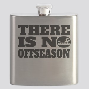 There Is No Offseason Swimming Flask