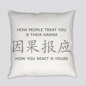 How You React Is Yours Everyday Pillow