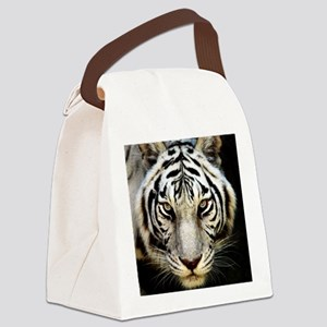 The Stare Canvas Lunch Bag