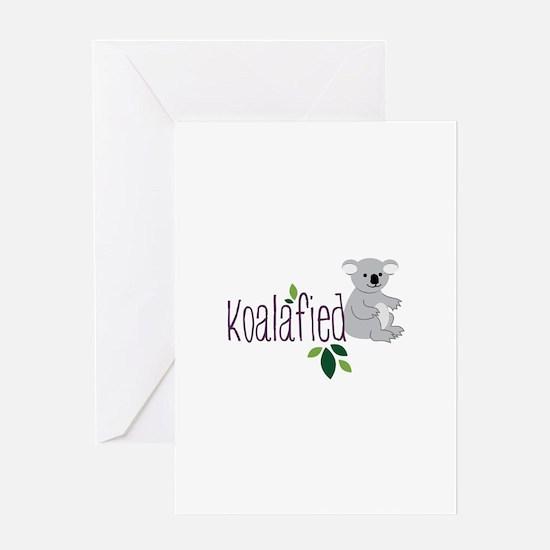 Koalafied Greeting Cards