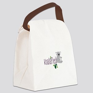 Koalafied Canvas Lunch Bag