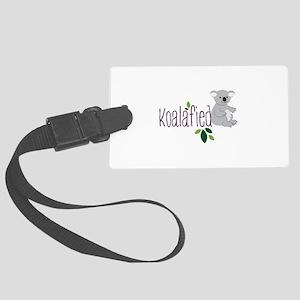 Koalafied Luggage Tag