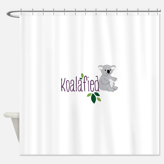 Koalafied Shower Curtain