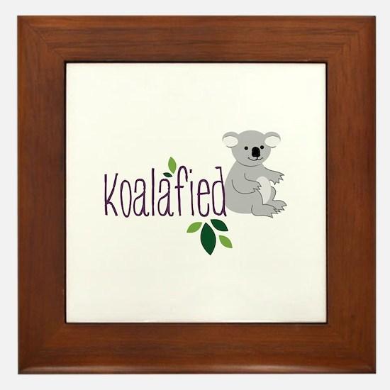 Koalafied Framed Tile