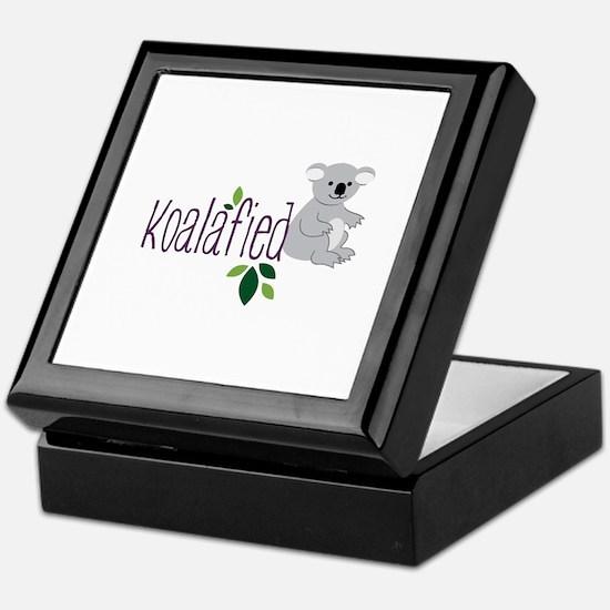 Koalafied Keepsake Box