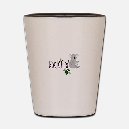 Koalafied Shot Glass