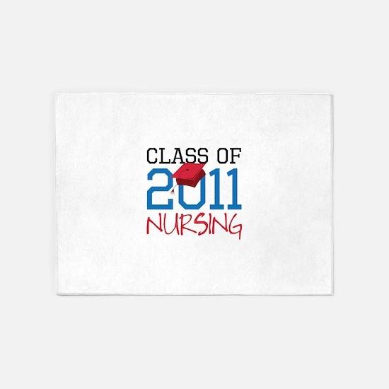 Nursing 5'x7'Area Rug