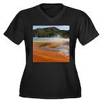 Grand Prismatic Spring Yellowstone Plus Size T-Shi