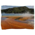 Grand Prismatic Spring Yellowstone Pillow Sham