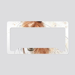 Horse Painting License Plate Holder
