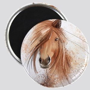 Horse Painting Magnets