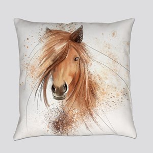 Horse Painting Everyday Pillow