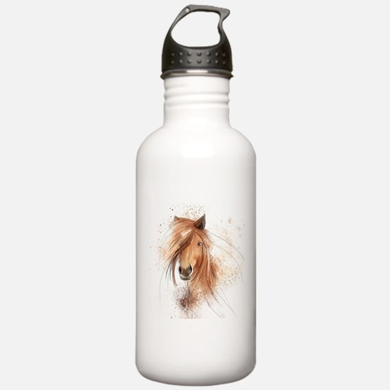 Horse Painting Water Bottle