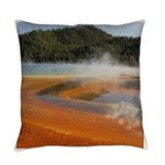 Grand Prismatic Spring Yellowstone Everyday Pillow