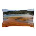 Grand Prismatic Spring Yellowstone Pillow Case