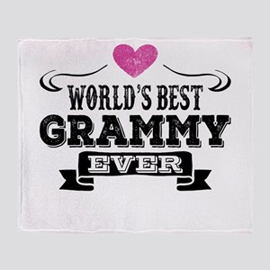 World's Best Grammy Ever Throw Blanket