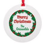 Custom Christmas Reef Ornament