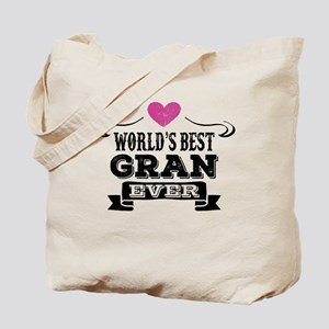 World's Best Gran Ever Tote Bag