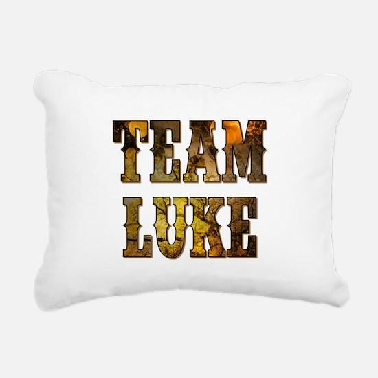 TEAM LUKE Rectangular Canvas Pillow