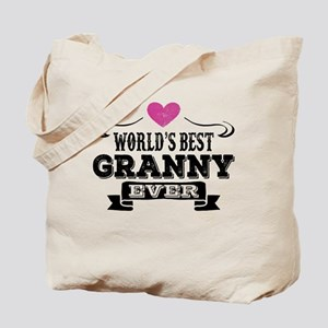 World's Best Granny Ever Tote Bag