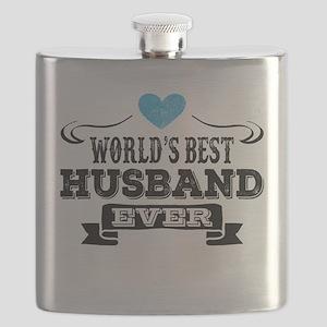 Worlds Best Husband Ever Flask