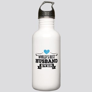 Worlds Best Husband Ever Water Bottle