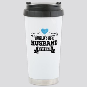 Worlds Best Husband Ever Travel Mug