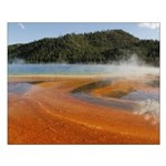 Grand Prismatic Spring Yellowstone Small Poster
