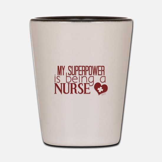 Super Nurse Shot Glass