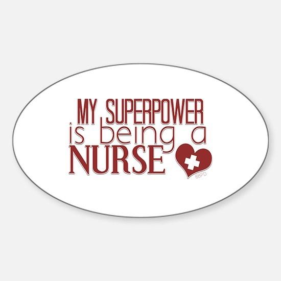 Super Nurse Decal