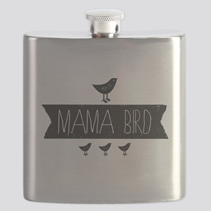 Mama Bird Flask