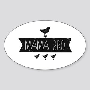 Mama Bird Sticker