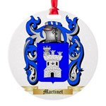 Martinet Round Ornament
