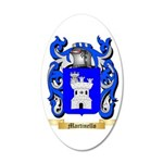 Martinello 35x21 Oval Wall Decal