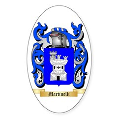Martinelli Sticker (Oval 50 pk)